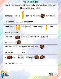 word problems u2013 grade 2 math worksheets