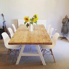 Dining Tables Farmhouse Kitchen Table Sets Industrial Reclaimed by Best 25 Table And Chairs Ideas On Pinterest Kitchen Farm Table