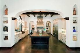 Interior Stucco Walls Blooming Spanish Kitchen Design Interior Designs With