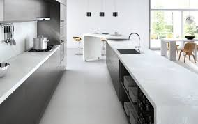 kitchen cabinets top material waterfall countertop everything you need to