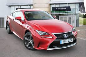 lexus rc price uk used lexus rc coupe for sale motors co uk