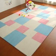 Diy Area Rug Yazi 9pcs Diy Puzzle Mat Foam Shaggy Carpet Doormat Jigsaw Mat