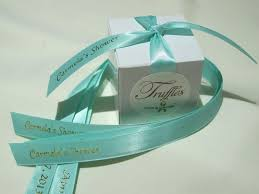 favor ribbons chocolate wedding favors for charity truffles for a cause