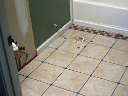 Laying Ceramic Floor Tile How To Lay Ceramic Tile In Bathroom