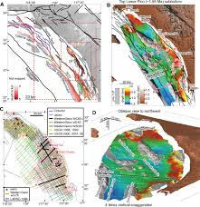 Newport Inglewood Fault Map Late Miocene U2013quaternary Fault Evolution And Interaction In The