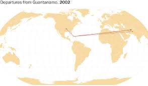 Guantanamo Bay Map There Are Fewer Than 100 Prisoners Still At Guantanamo Bay Where