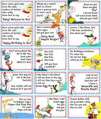 dr seuss party food 4 dr seuss party food labels listing for 4 by imfeelincrafty 6 00
