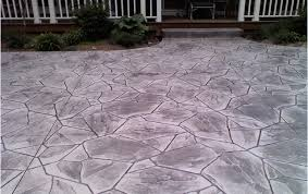 Brushed Concrete Patio Palermo Patios And Sidewalks Rochester Ny Home