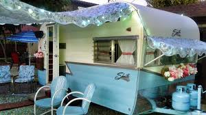 Vintage Travel Trailer Awnings Vintage Trailer Awnings By Pink Flamingo Awnings