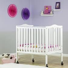 2 in 1 lightweight folding portable crib dream on me