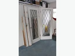 leaded glass french doors diamond leaded glass french doors saanich victoria
