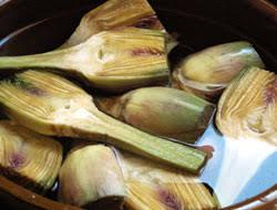 cuisiner des artichauts recette artichauts poivrades grillés cuisine languedoc roussillon
