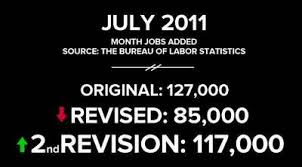 black friday jobs monthly jobs report a history of revisions