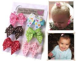 infant hair bows infant hair bow etsy