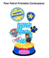 Paw Patrol Cake Decorations Paw Patrol Birthday