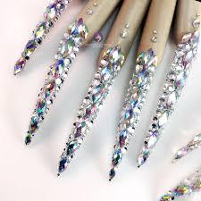 diamante u2013 nail gloves u2013 unicorns glitter