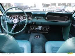1966 ford mustang dash 1966 ford mustang coupe turquoise dashboard photo 57612967
