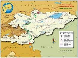 Tajikistan Map Nexus Expedition Summer 2014 Route Kyrgyzstan Tajikistan