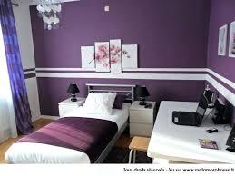 chambre mauve et chambre violette et grise deco chambre ado violette decoration