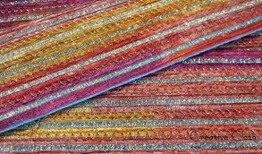 fabric ribbon how to make fabric from ribbon creative cloth studio