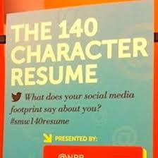 Best Resume Writing Book by Career Guidance The Best 140 Character Resumes On Twitter