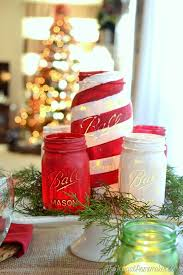 43 mason jar christmas crafts fun diy holiday craft projects