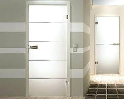 Interior Doors With Glass Panel Contemporary Interior Doors With Glass Exle Of A Minimalist
