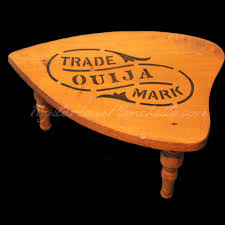 Ouija Coffee Table by The Mysterious Planchette Gallery Talking Board Planchettes