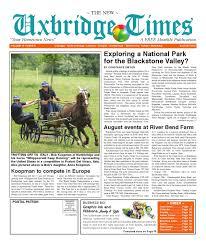 the new uxbridge times august 2010 by the new uxbridge times