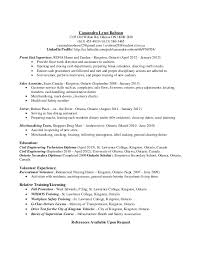 sle resume for civil engineering technologists cassandra lynn robson resume and coverletter civil engineering te