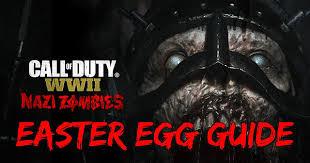 east egg call of duty ww2 guide nazi zombie easter egg walkthrough call