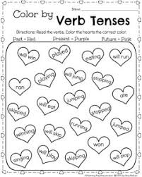 verb worksheet 1st grade free worksheets library download and