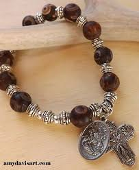 rosary bead bracelet 59 best car rosary images on rosary prayer