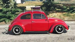 volkswagen beetle side view volkswagen beetle 1963 beta for gta 5