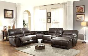Sectional Sofas With Recliners And Chaise Leather Sectional Sofa Recliner Adrop Me