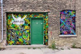 frankly green bay local artist beau thomas creates art for the streets as well as galleries and got his