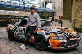 nissan drift cars drift racer danny cross on his nissan 200sx s14