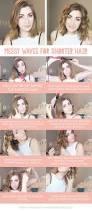 cute quick hairstyles for medium length hair 15 cute easy hairstyle tutorials for medium length hair gurl com