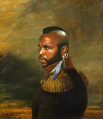 mr t feather earrings mr t replaceface print framed framed prints