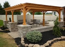 Pool Pavilion Plans Pergolas And Pavilions The Barn Raiser Quality Amish Built