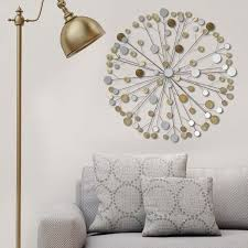 overstock com home decor stratton home decor metallic starburst wall decor free shipping