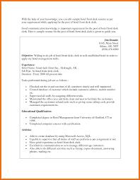 resume names examples hotel front desk clerk sample resume hotel front desk resume