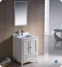 24 Inch Bathroom Vanities by Fresca Oxford Single 24 Inch Transitional Bathroom Vanity