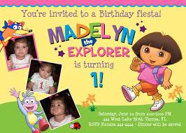 shutterbug sentiments dora the explorer birthday invitations
