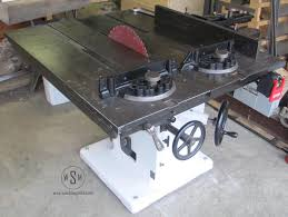 tannewitz table saw restoration wood shop mike