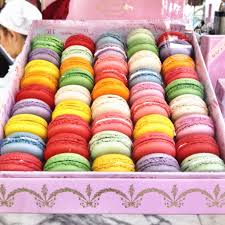 bottega louie macaron box in multi colors great for a dessert