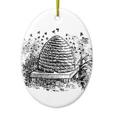 vintage beehive ornaments keepsake ornaments zazzle