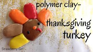 how to make a polymer clay thanksgiving turkey