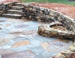 Dry Laid Flagstone Patio Patios And Walks U2014 Winding Path Custom Stone Masonry