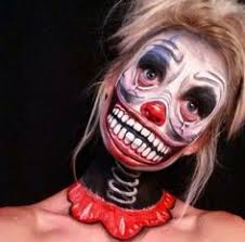 Awesome Scary Halloween Costumes Scary Halloween Makeup Horrifyingly Scary Scary